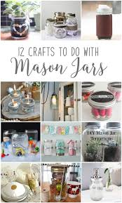 Cute Jar Decorating Ideas Make Hanging Mason Jar Craft Storage 100MonthsofDIY The DIY Mommy 44