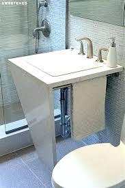 leaking shower drain shower drain trap offset shower drains marvelous remove p trap bathroom sink 7