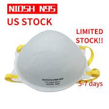 <b>Makrite</b> One Box with <b>20Pcs NIOSH N95</b> Mask Particulate ...