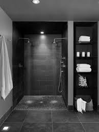 dark basement hd. Room Renovation Software Home Decor Contemporary Bathroom Basement Double Shower Heads With Pebble Base And Storage Dark Hd