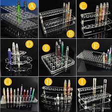 E Liquid Display Stand Acrylic Display Stand Vape E Cig Mod Standing Shelf Holder Racks 53