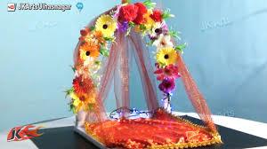 ganpatidecoration flowermakhar ganpatimakhar