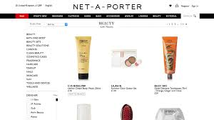the world s premier luxury fashion destination net a porter sells much more than high end garb in fact the has quickly bee a beauty