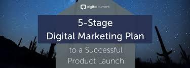 5 Stage Digital Marketing Plan To A Successful Product Launch