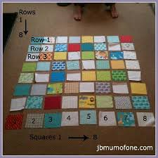 Best 25+ Beginners quilt ideas on Pinterest | Beginner quilting ... & Numbering quilt rows and squares How to Make a Cotbed Quilt for Beginners,  Step Preparing to Sew the Front of Your Quilt Adamdwight.com