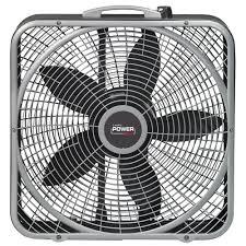 power plus box fan