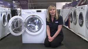 Hotpoint Washer Dryer Combo Hotpoint Wdud 9640 P Washer Dryer Youtube