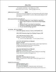 Objective For Sales Associate Resume Objective Retail Sales Resume Manager Template Successmaker Co