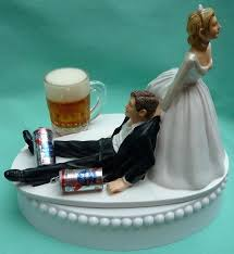 Cute Wedding Cake Toppers Funny With Dog Ethcard
