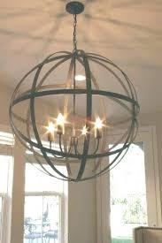 metal orb chandelier wood and metal orb chandelier light for remodel 9 large metal orb chandelier