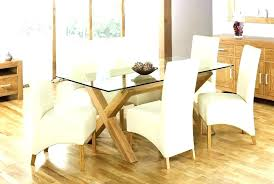 round glass top dining table with wooden base glass