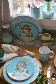 household dining table set christmas snowman knife: dining with snowmen and casa moda evergreen ernie dinnerware homeiswheretheboatisnet table