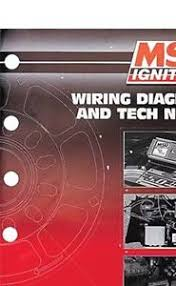 msd ignition book 034 msd wiring diagrams amp tech notes 034 image is loading msd ignition book 034 msd wiring diagrams amp