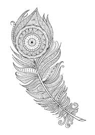 Feathers Coloring Page 7 By Artist