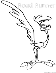 Small Picture Wile coyote and road runner Coloring Pages