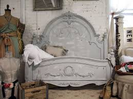 grey shabby chic bedroom furniture. Painted Cottage Chic Shabby Dove Grey Queen Romance Bed. $1,195.00, Via Etsy. | For The Home Pinterest Cottage, And Bedroom Furniture B