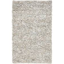 safavieh leather white 8 ft x 10 ft area rug