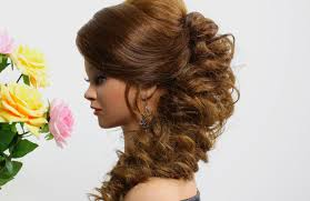 Prom Hair Style Up prom hairstyle for long hair tutorial youtube 3402 by wearticles.com