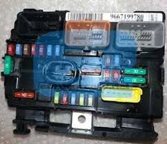 6500hw engine fuse box citroen c3 picasso peugeot 207 9667199780 image is loading 6500hw engine fuse box citroen c3 picasso peugeot