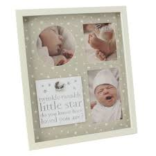 baby collage frame baby collage wooden photo frame gift home decor bambino by juliana