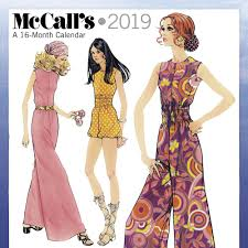 Mcalls Patterns Inspiration McCalls Patterns 48 Wall Calendar Calendars