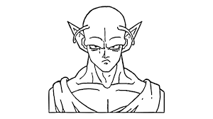 Comment Dessiner Piccolo De Dragon Ball Z Youtube
