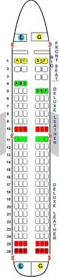 A319 Seating Chart Airlines Seating Charts Seat Maps Airbus A319 A320 A330 A380