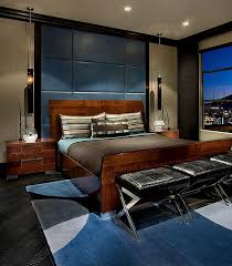View In Gallery Rich Array Of Textures And Elegant Decor Bring  Sophistication To This Urbane Bedroom. By IMI Design
