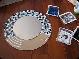 Another mosaic mirror project.