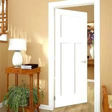 White interior 3 panel doors Shaker Style Image Of White Interior Panel Doors Closet Doors Closet Doors Daksh Craftsman White Painted Dakshco White Interior Panel Doors Closet Doors Closet Doors Daksh