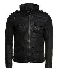 superdry brad hero leather jacket black mens superdry on blacks superdry dresses superdry dresses xl reliable quality