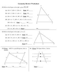 High School Geometry Worksheets | Template Business