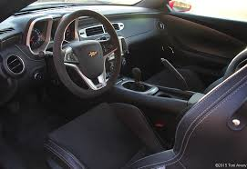 chevrolet camaro 2015 interior. inside the camaro are recaro performance seats stand alone option navigation system and a suede shift knob steering wheel chevrolet 2015 interior