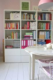 besta office. ikea besta home office shabbychic style with contemporary display and wall shelves