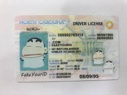 Buy North Id Make Fake Premium Ids - Scannable We Carolina