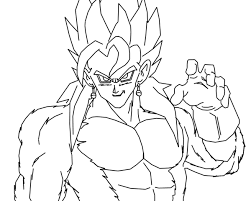 Small Picture Coloring Pages Vegito Vegeta Printable Ssj4 Maxvision
