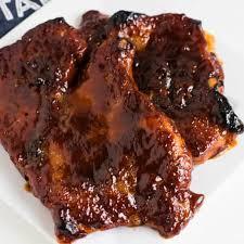 baked bbq pork steak recipe in the oven
