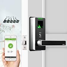 <b>Fingerprint Door</b> Lock with Bluetooth <b>Biometric Smart</b> Locks Keyless ...