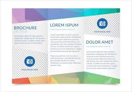 tri fold brochures 6 trifold templates printable psd eps ai format download
