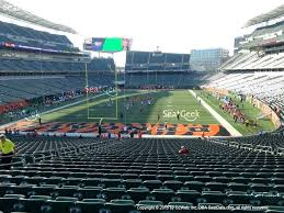 Paul Brown Stadium Seating Chart View Www