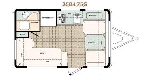 travel trailer floor plans. Bigfoot RV Travel Trailer Floor Plans 2