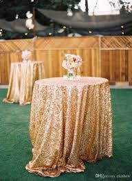 decoration tablecloth ideas for wedding table cloth linen tablecloths reception linens weddings diy gold sequin round sparkly champagne elegant