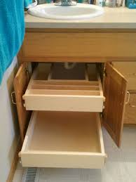 Bathroom Under Cabinet Storage Bathroom Cabinet Roll Out Shelves Maximize Your Storage And