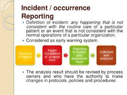 Incident Report Definition 6 New Company Driver
