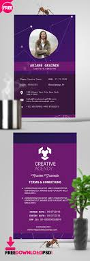 Business Id Template Free Id Card Psd Template Freedownloadpsd Com