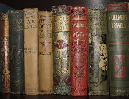 old book spines google search