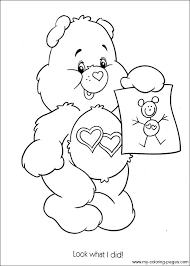 Care Bears Coloring 050 ぬりえ ぬりえ