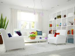 white color idea for home interior paint