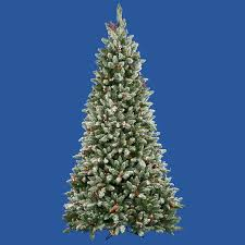 National Tree Company 75 Ft Cashmere Cone And Berry Decorated White Berry Christmas Tree Lights