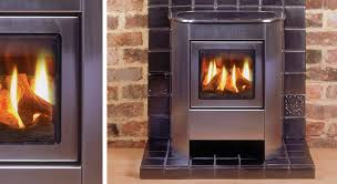 modern gas stoves. Gazco Small Steel Manhattan Gas Stove, Balanced Flue In Brushed Stainless With Log-effect Fire Modern Stoves